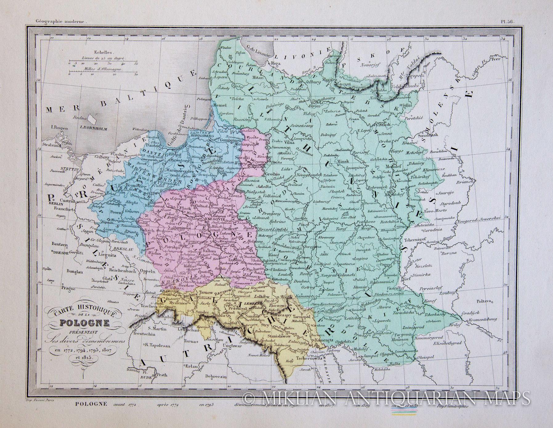Maps1851 75 et 1815 paris 295 x 22 cm from atlas de la geographie universelleuvelle edition published by garnier freres gumiabroncs Image collections