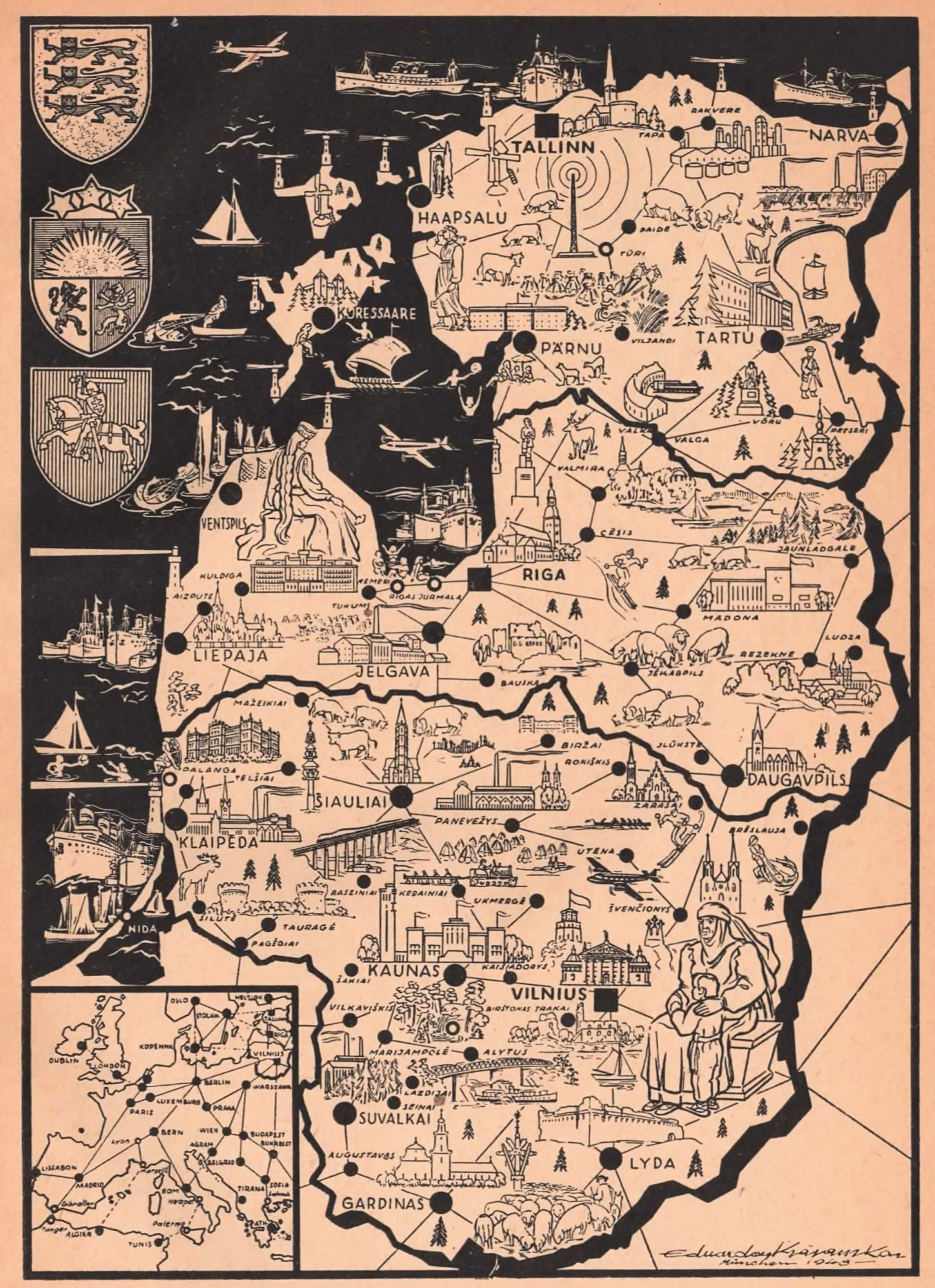 Map Of Germany 1940.Maps1940 45
