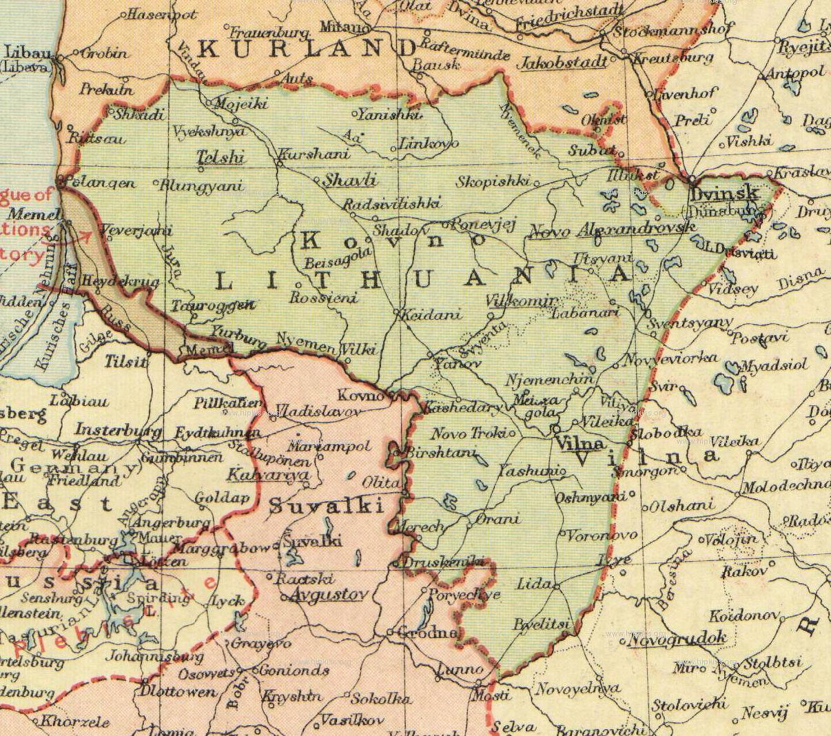 Poland 1930 Map Maps1919 30